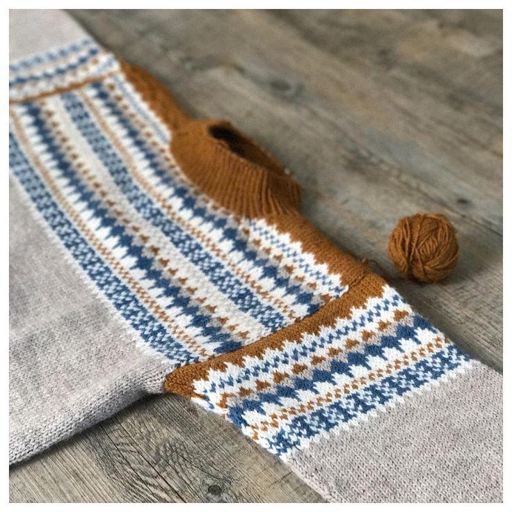 Sjekk DE tøffe fargene til Oskargenser - Knitting Inna