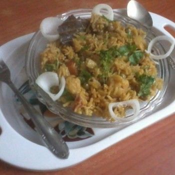Maharashtrian Dish: Masale Bhaat - #Rice #Recipe