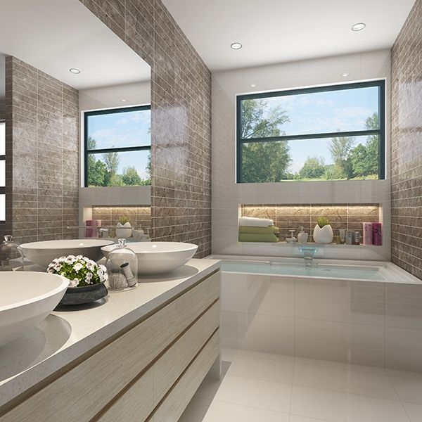 One of the ensuites in the impressive Rembrandt 387 #GalleryHomes #LuxuryHomes #DesignerHomes #RealEstate