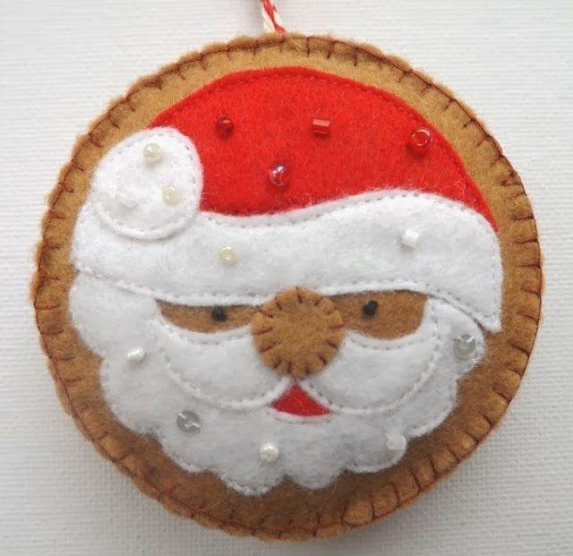 SewforSoul: Felt Gingerbread Ornaments, Sugar Cookie Tutorial
