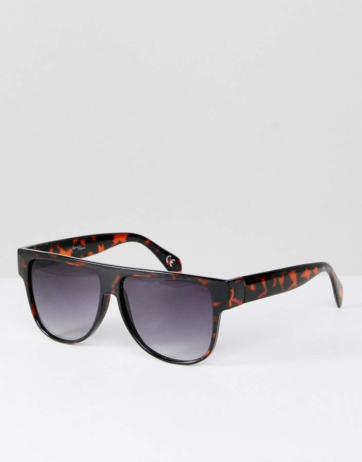19346f212e Jeepers Peepers Square Sunglasses In Tort