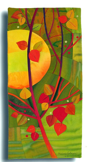 October Gift by Melody Johnson Quilts, via Flickr