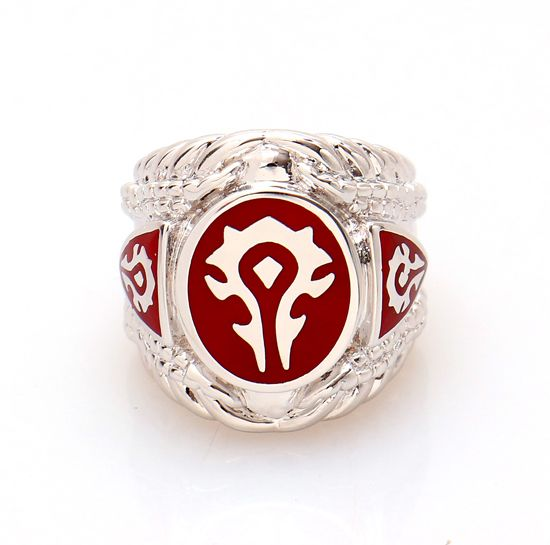 2016 New Red Enamel World of Warcraft Ring 316L Stainless Steel WOW Game Jewelry Top Quality  sc 1 st  Pinterest & 114 best World of warcraft images on Pinterest | Blizzard hearthstone azcodes.com