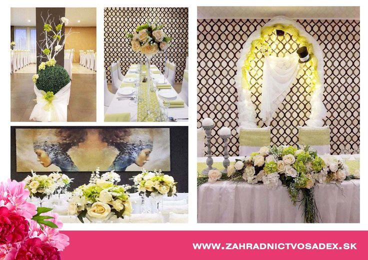 Kvetinárstvo- Svadobná floristka | Sadex svadobná výzdoba