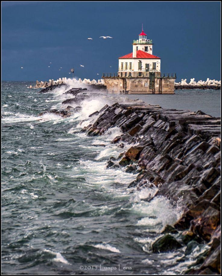 Oswego NY Lighthouse On Lake Ontario (With Images