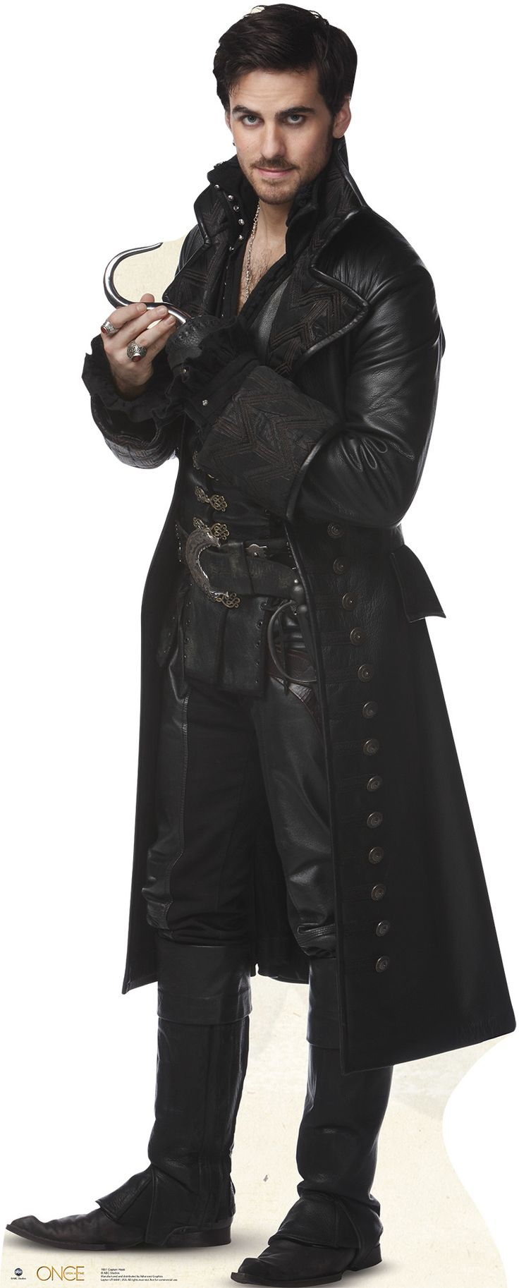 hook from once upon a time Once upon a time killian jones captain hook cosplay costume is a character on abc's once upon a time she debuts in the first episode of the first season.