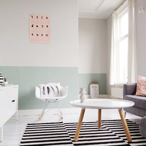 Painting Two Walls In A Room: Best 25+ Two Tone Paint Ideas That You Will Like On