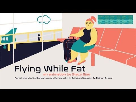 """Flying while fat""- empathy 9 women describe the frustration, shame, and heartbreak of being a fat person on a plane."