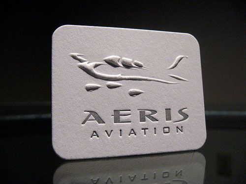 145 best business cards images on pinterest business card design unique business card for aeris aviation printed by dolcepress reheart Gallery