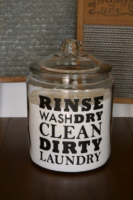 1000 Ideas About Laundry Soap Container On Pinterest