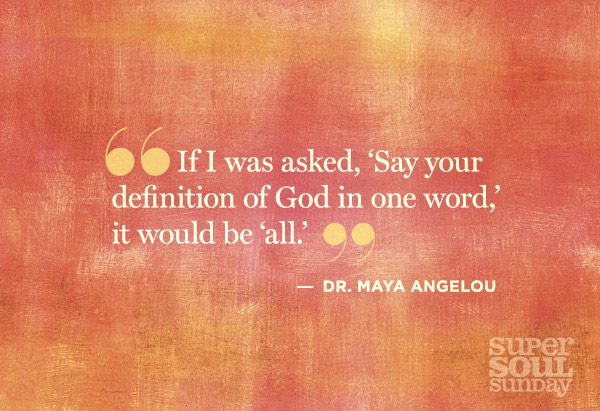 20 Teachable Moments from Dr. Maya Angelou