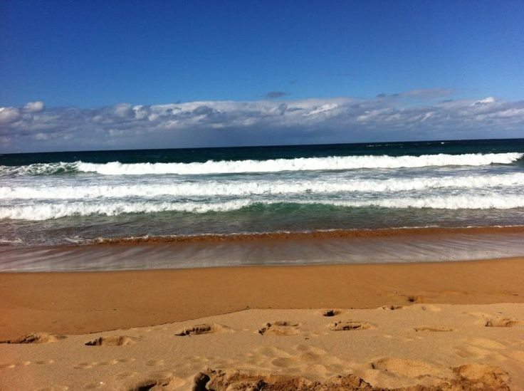 Ninety Mile Beach! Lakes Entrance. Victoria. Australia.