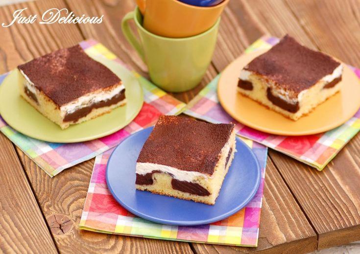 Pudingový koláč s kyslou smotanou - NajRecept.sk