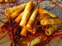 Catalan rolled cookies recipe