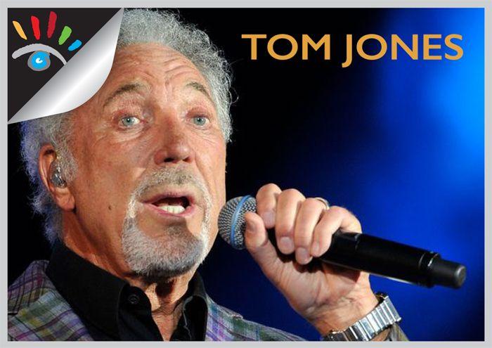 De Britse popzanger Tom Jones werd in juni 1940 geboren als Thomas Jones Woodward in Pontypridd in Wales.  Zijn muziek carrière begon in 1963 en tot op de dag van vandaag is Tom Jones nog erg populair gebleven.