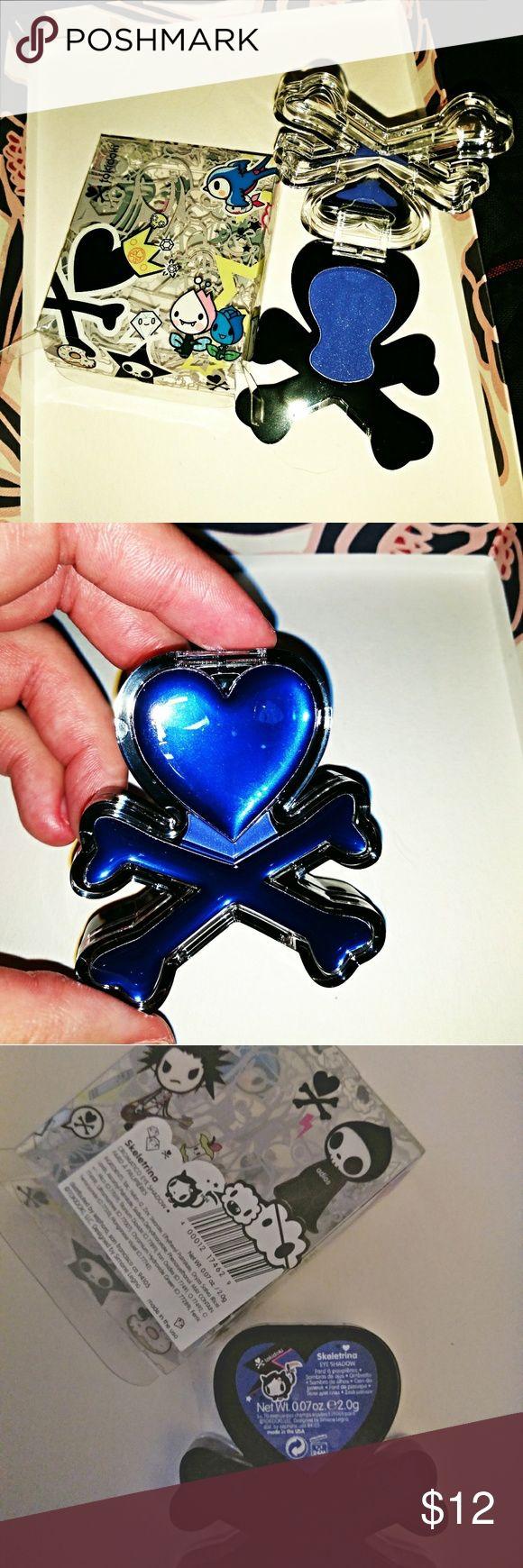 Tokidoki Skeletrina Eyeshadow Blue New NIB Brand new in box, 2g, Blue shade Skel…