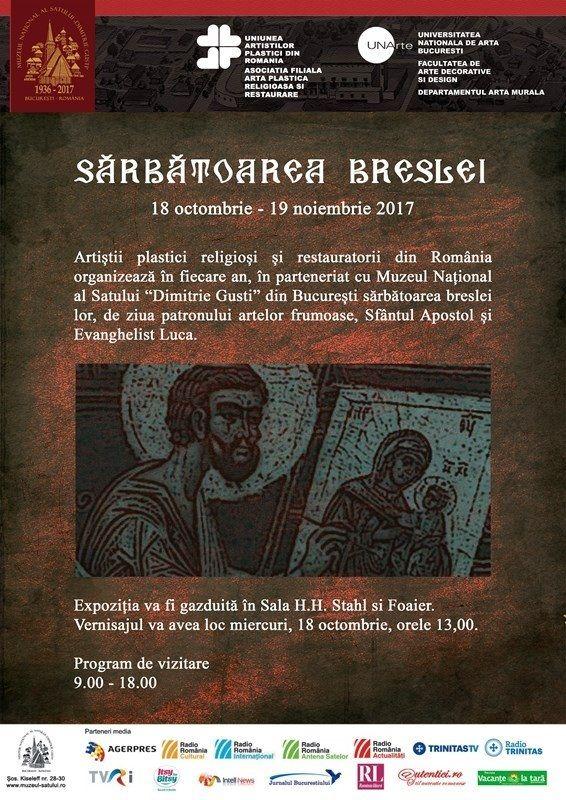 """""""SĂRBĂTOAREA BRESLEI 2017"""" la Muzeul National al Satului """"Dimitrie Gusti"""""""