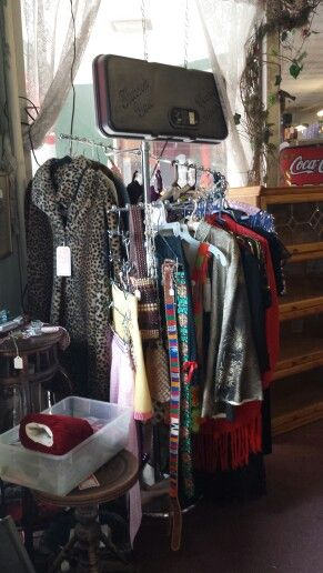 great vintage clothing throughout the mall 105 south