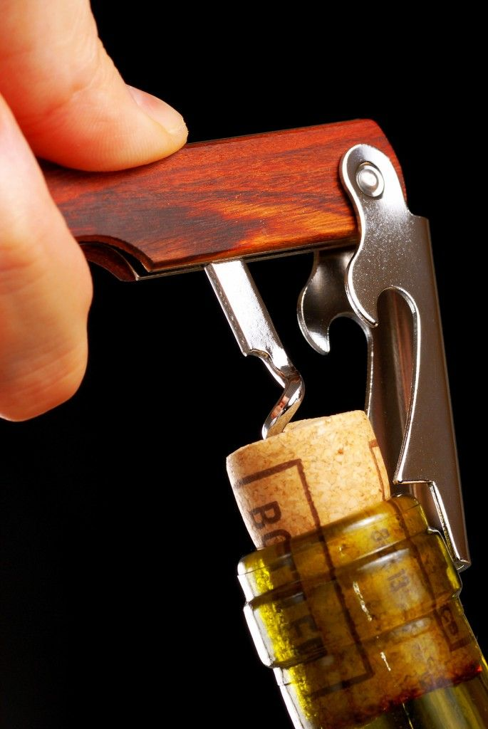 5 Crazy Ways To Open A Wine Bottle And Still Drink It. Whether you're a fan of the two-armed bandit, the rabbit or the traditional sommelier's wine key, it's crucial to have a reliable tool for opening a bottle of wine - if you want to drink it, that is. But sometimes, despite our best laid plans, we find ourselves without one of these handy devices.