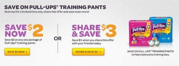High Value $3/1 Huggies Pull-Ups Coupon! - Raining Hot Coupons