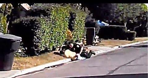 Αστυνομική καταδίωξη που κατέληξε σε κωμωδία (βιντεο)