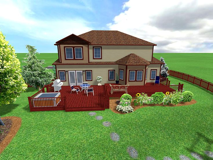 Backyard Designs   ... Backyard Landscape Design Is Just One Example Of How  The