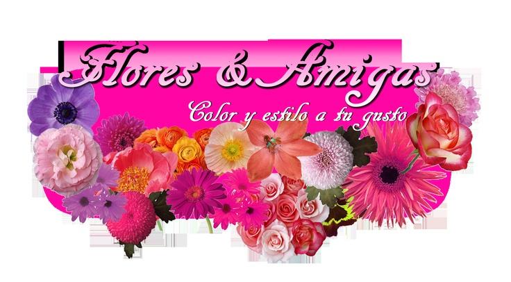 Logo Flores y amigas