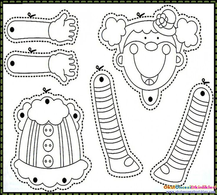 1048 best DOLLS PAPER / ARTICULATED (BLACK & WHITE) images