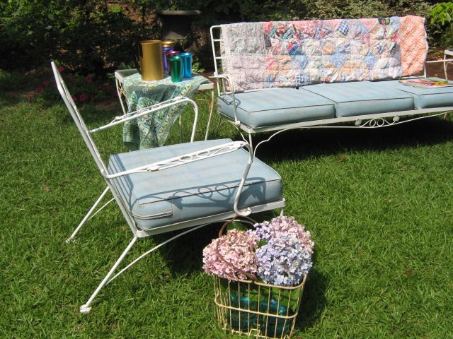Vintage Metal Patio Furniture Http://coastersfurniture.org/shabby Chic