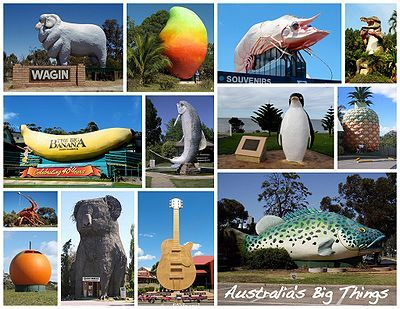 'big' attractions in Australia...and there are only about 150 of them in this big country.