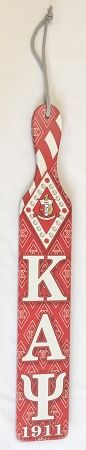 Kappa Alpha Psi Full Color Wood Paddle - Decoration