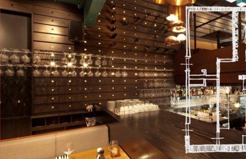 Backbar Bottle Wall -  Design Beers Brickworks