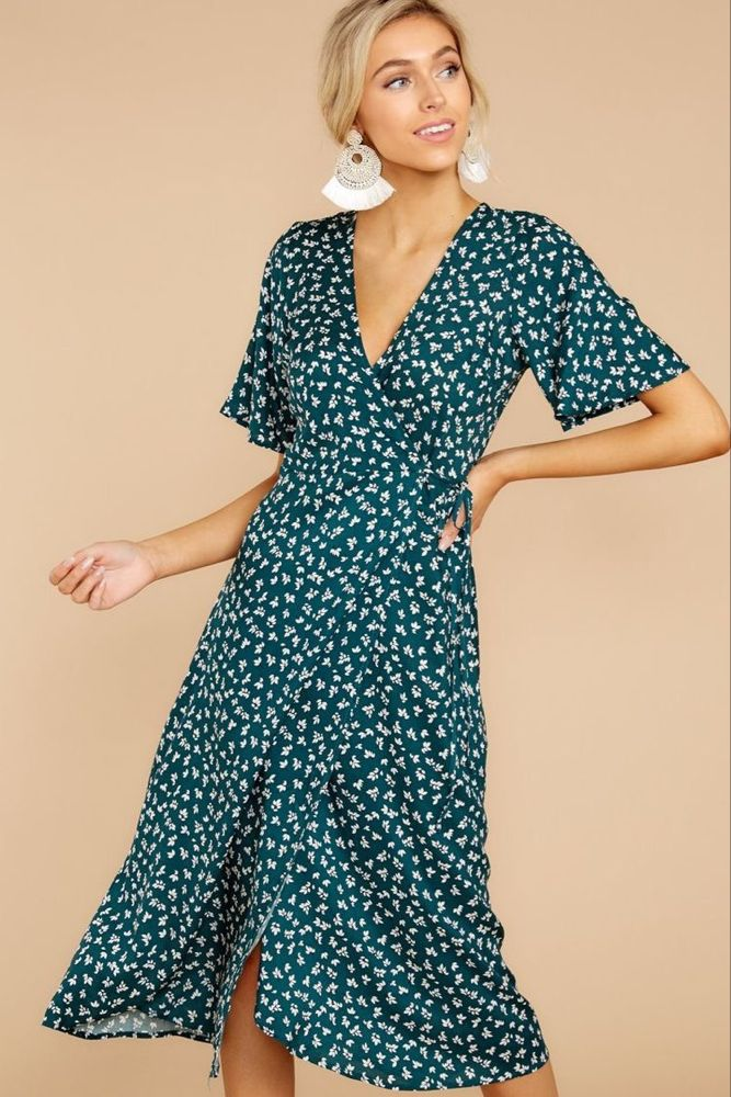 a833b90c0be7 Pin by Hallie Gifford on What to wear in 2019 | Dresses, Midi dress ...