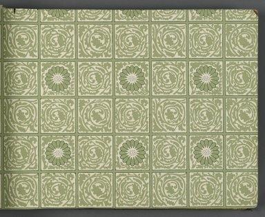 Brooklyn Museum Decorative Arts Wallpaper Sample Book