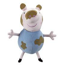 Peppa Pig - Peluche George Pig Manchas de Barro