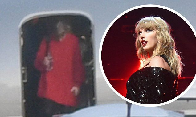Taylor Swift returns to LA after shooting video for End Game in Miami