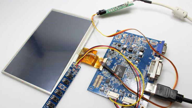 Pollin-Touchdisplay für den Pi konfigurieren | Make