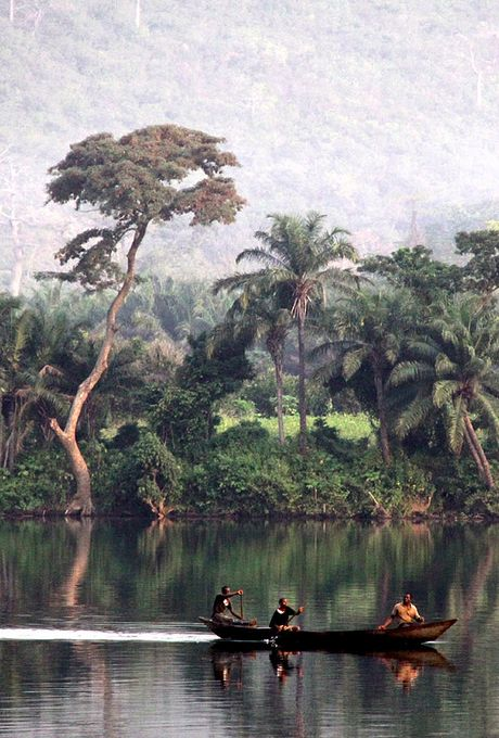 Beautiful nature in Ghana