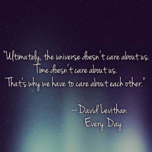 Book Review: Every Day by David Levithan | katliterary