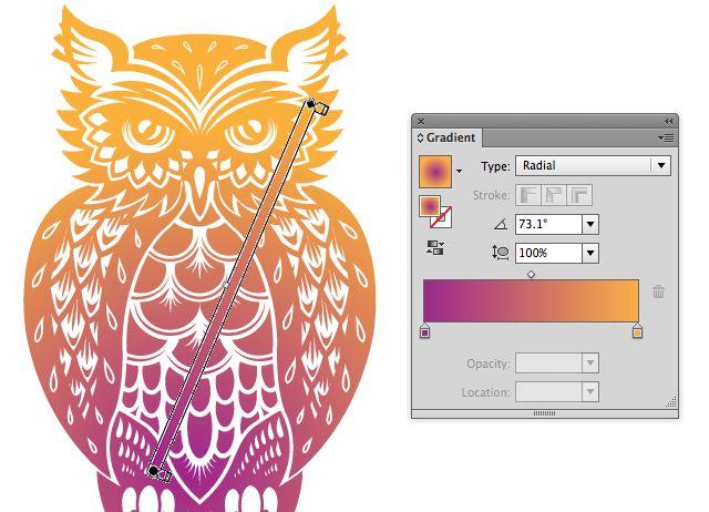 Quick Tip: Using the Gradient Tool and Gradient Panel in Illustrator – Design & Illustration – Tuts+