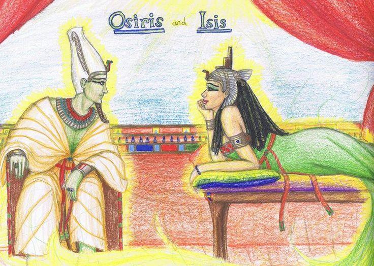 Resultado de imagem para Ísis e Osíris