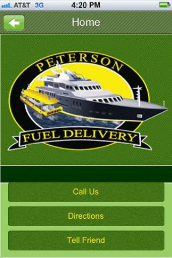 This is your connection to Peterson Fuel.  We are pleased to be able to offer this app to you. Contact Peterson Fuel, connect on with us on Facebook and even request an appointment straight from within the app. We hope you find this app to be informative and enjoyable for your experience with Peterson Fuel!<p>- Call us, Get Directions and Tell a Friend.<br>- View our Image Gallery<br>- Share your photos with Peterson Fuel<br>- Access our Tip Calculator & Receive Loyalty offers<br>- Use Our…