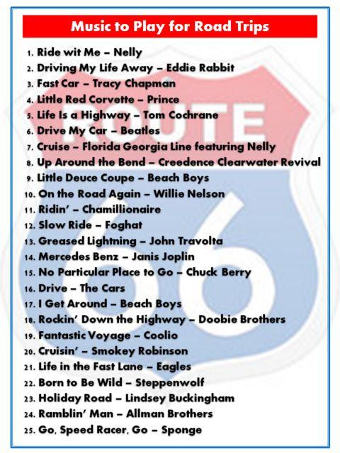 #MietwagenTips: Mit dieser #Route66 Song Playliste geht ganz bestimmt nix auf Eurer #Reise schief! http://www.mietwagen.tips/