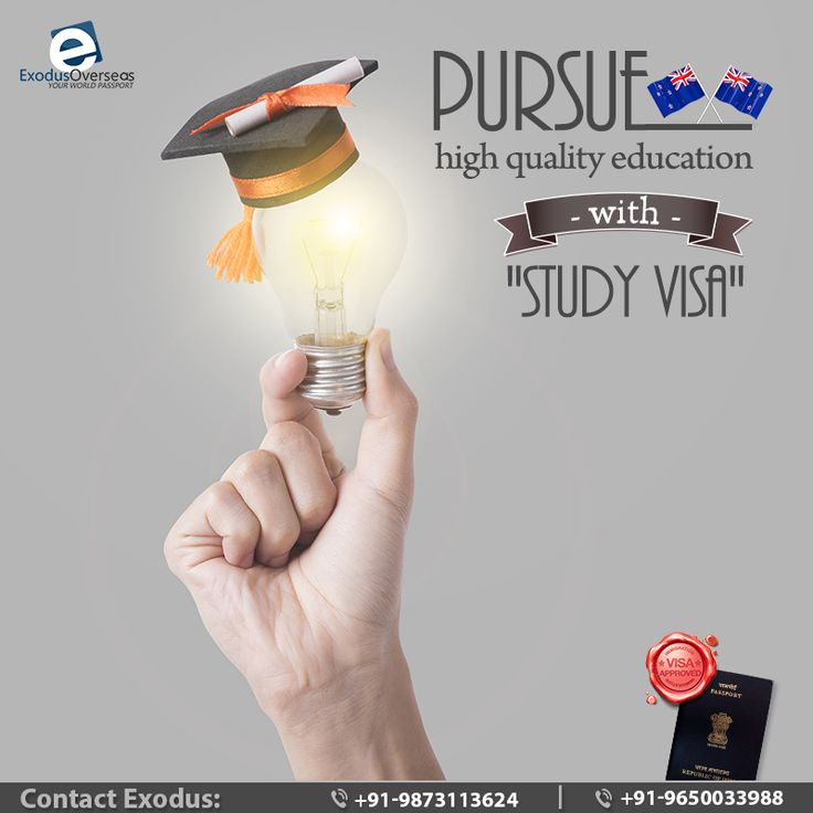 Are you an aspirant of overseas education?Enjoy the benefits of an internationally recognised and high quality education in New Zealand with Study Visa. Contact Mr. Pankaj Malhotra (Ex-Visa Officer) Ph: +91-9650033988. For any visa other than student contact Ms. Rajni Garg (Licensed immigration advisor) at +91-9873113624. #StudyVisa