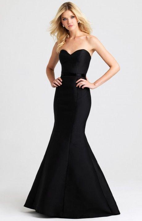 Allure Prom 2016 Madison James #16389 www.thecastlepromandbridal.com Little black dress alert! Color choices: Black Red Royal