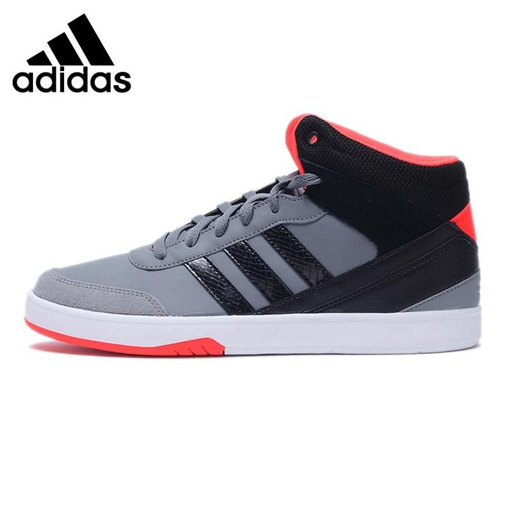 Original New Arrival  Adidas NEO Label PARK Men's High top Skateboarding Shoes Sneakers