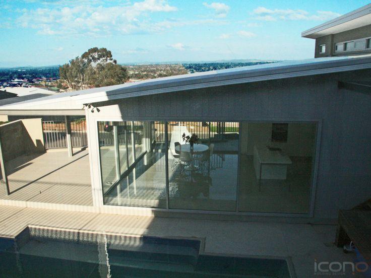 The perfect outdoor area! #pool #outdoorarea #iconobuildingdesign #Architecture #Australianhomes #outdoorliving #family