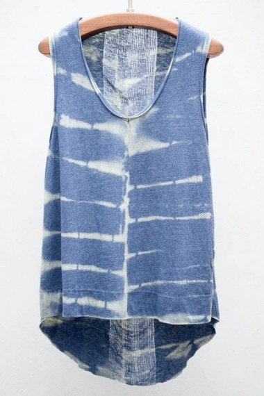 tie dyed tank top