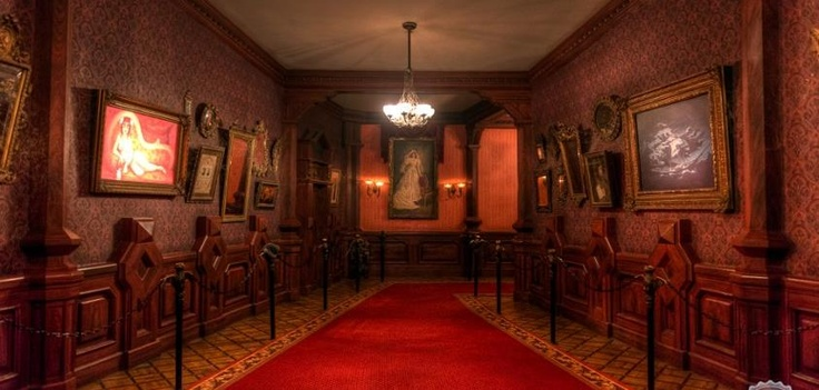 1000 images about phantom manor on pinterest disneyland for Inside interieur