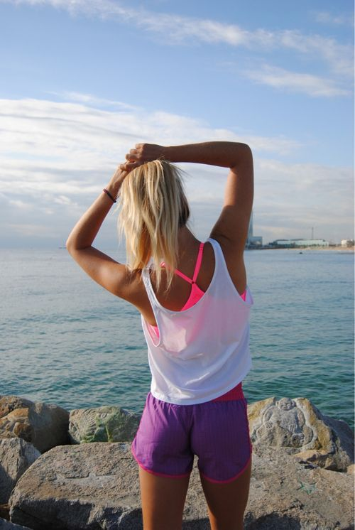 3 Slimming Workouts for the New Year {plus tips for staying in shape} love this!